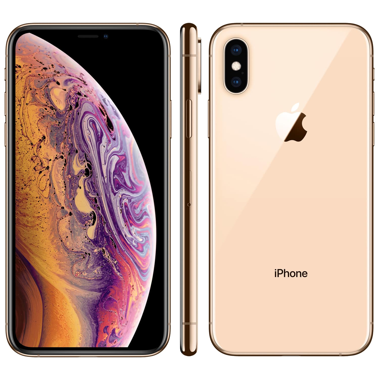 iphone xs goud 1